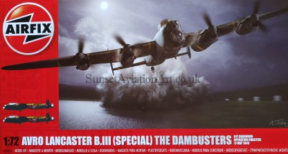 A09007 Airfix Avro Lancaster B.III (Special) The Dambusters