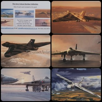 The Avro Vulcan Bomber Collection.