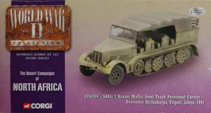 Corgi CC60004 Krauss Maffei Semi Track