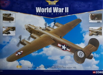 B-24D Liberator Ball of Fire Corgi AA34002