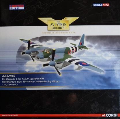 DH Mosquito B XX, No. 627 Squadron RAF Corgi AA32816
