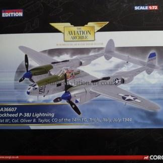 AA36607 Corgi Lockheed P-38J Lightning