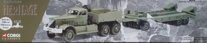 55102 Corgi DIAMOND T980 Remorque Porto Char