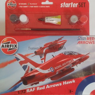 RAF Red Arrows Hawk A55202C Airfix