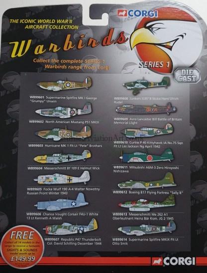 spec sheet warbirds