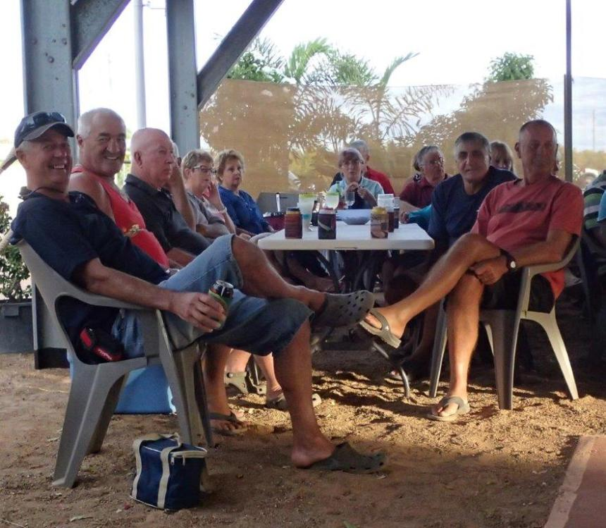 Photo's from Steve and Donna Apirana, and Donna Tairakena Entertainment on Tuesday 09/06/2015 karumba point sunset caravan park accommodation cabins hotels fishing birds wild life queensland qld online direct booking book now