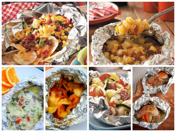 Seriously, guys, you can cook virtually anything in foil