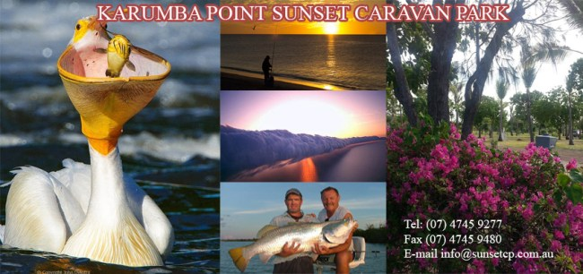 Karumba Tourist Attraction Places to Go Karumba Point Sunset Caravan Park