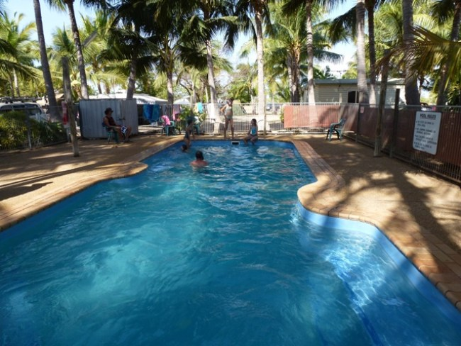 Swimming Pool Karumba Point Sunset Caravan Park