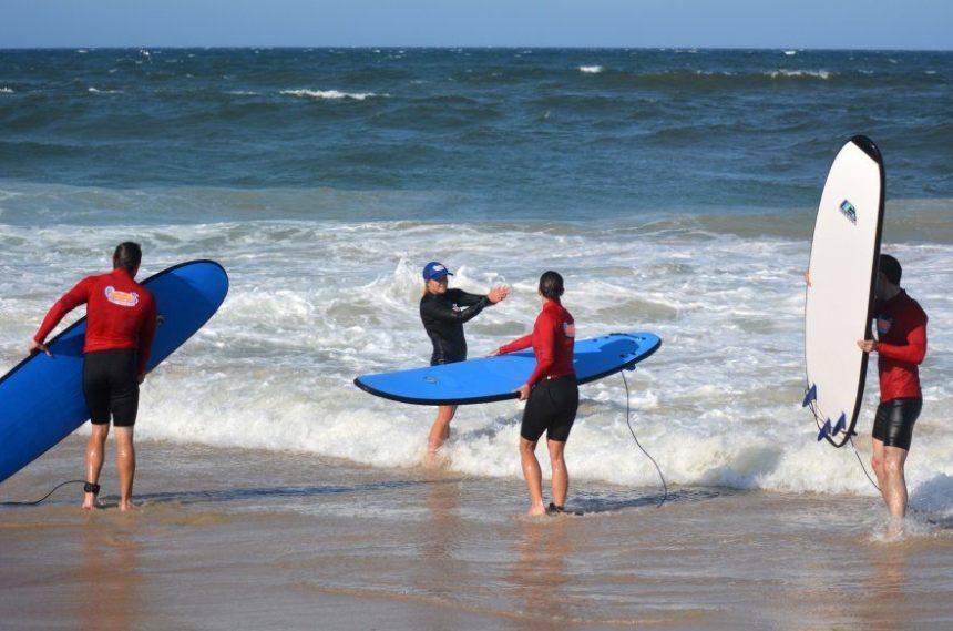 Don't Surf Without Knowing the Etiquette Photo (C) ChameleonEye Via Shutterstock