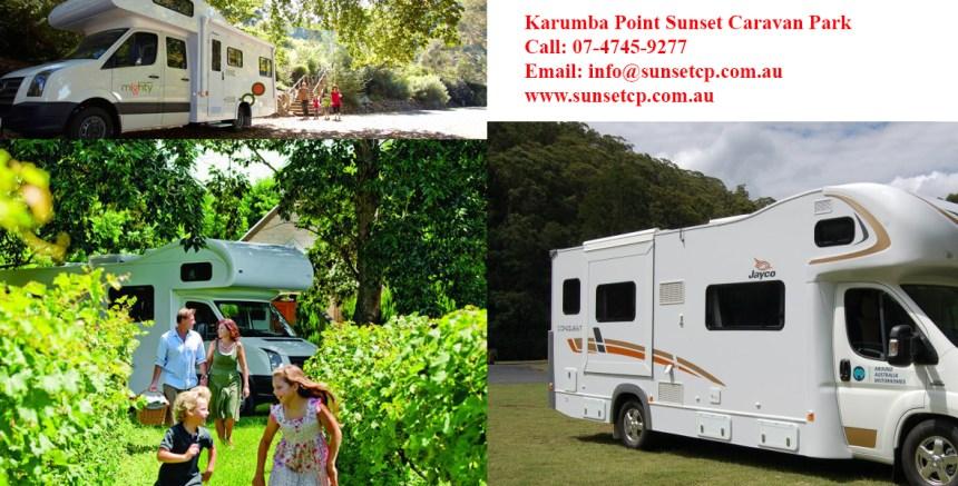 Campervan Karumba Point Sunset Caravan Park