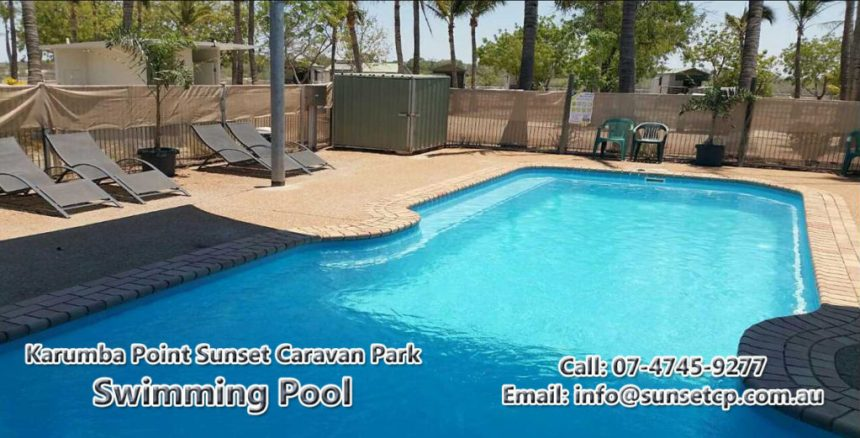 Karumba Point Sunset Caravan Park Swimming Pool 09 December 2016