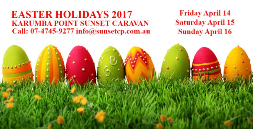 Karumba Point Sunset Caravan Park Easter Holidays 2017