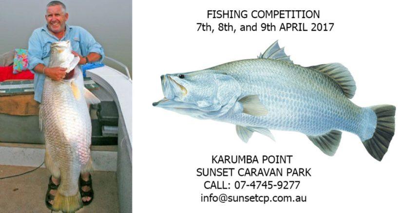 Fishing Competition Karumba Point Sunset Caravan Park