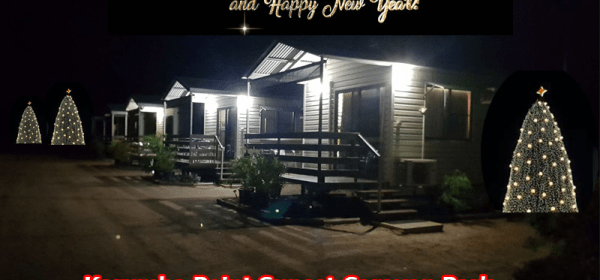 Christmas Festival Karumba Point Sunset Caravan Park Holidays Tree