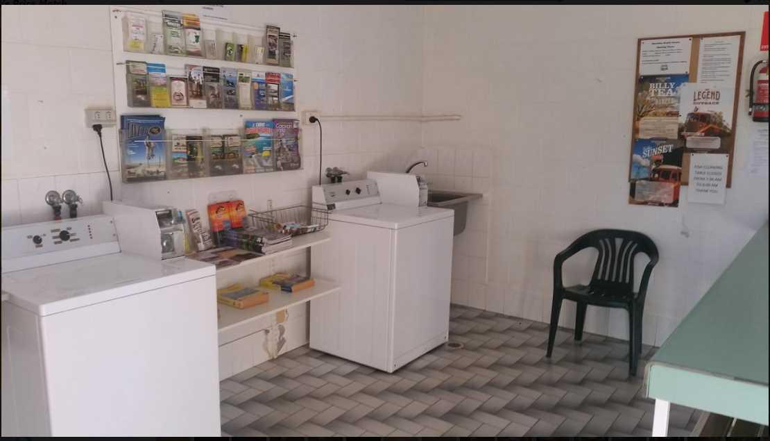 Washing Machine Cleaning Area Karumba Point Sunset Caravan Park