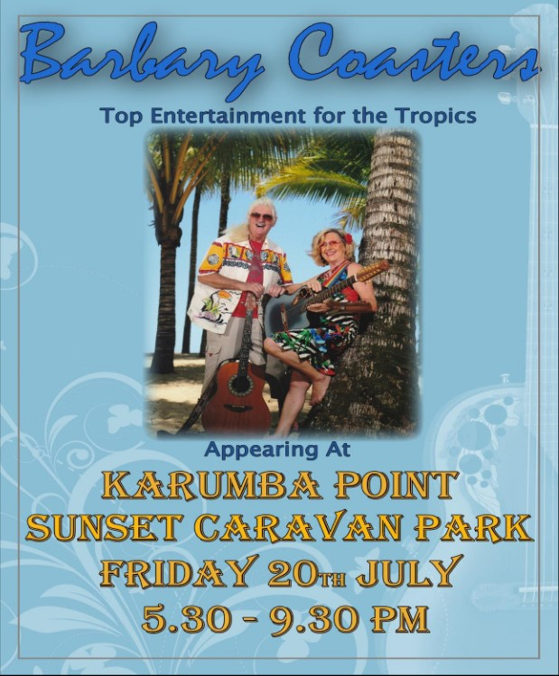 Barbary Coaster Top Entertainment for th Tropics