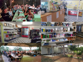 Shop including a mini mart line, souvenirs, clothing, ice, bait, caravan plumbing and more Karumba Point Sunset Caravan Park