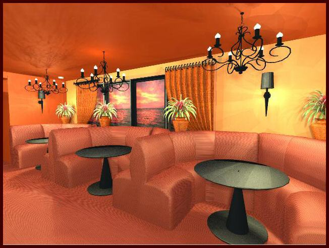 Sheffield Interior Designers and Sheffield Decorators for South     Indian Restaurant 3D Computer Design