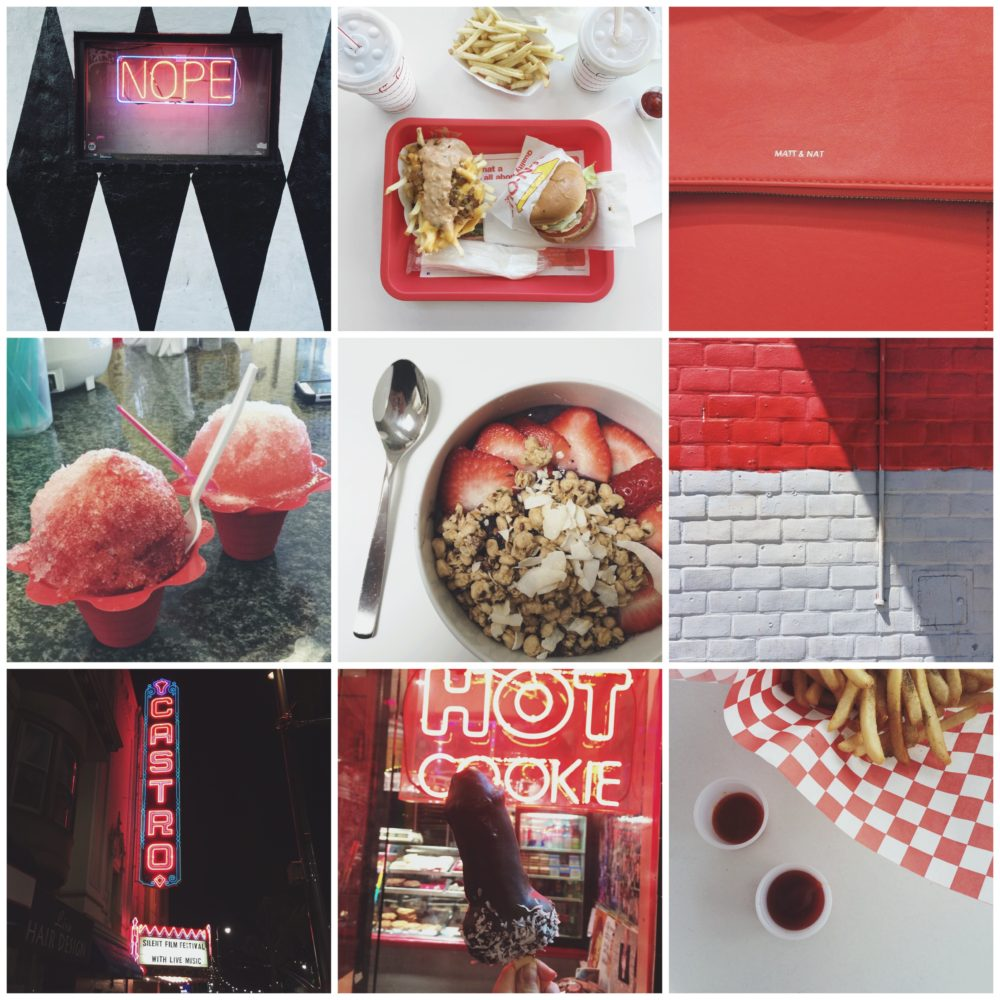 Fashion Soup for the Sartorial Soul: Saturated Summer #3 (Red)