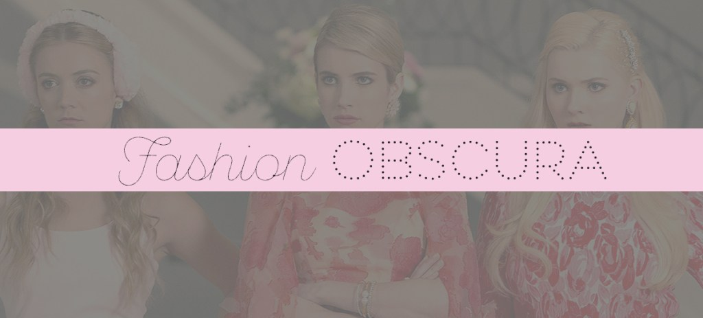 Fashion Obscura: Fall TV's Best Dressed