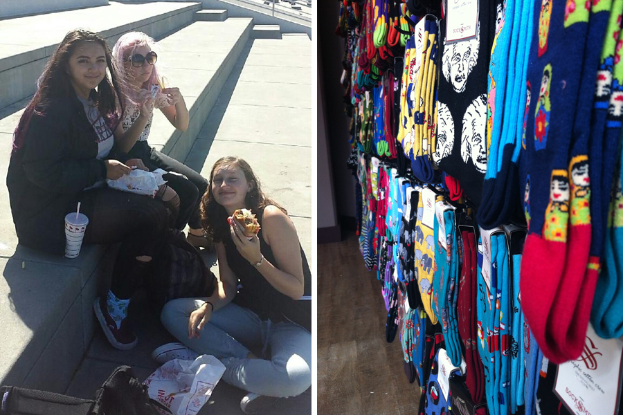 In N Out Style (left) Sockshop Adventures (right)