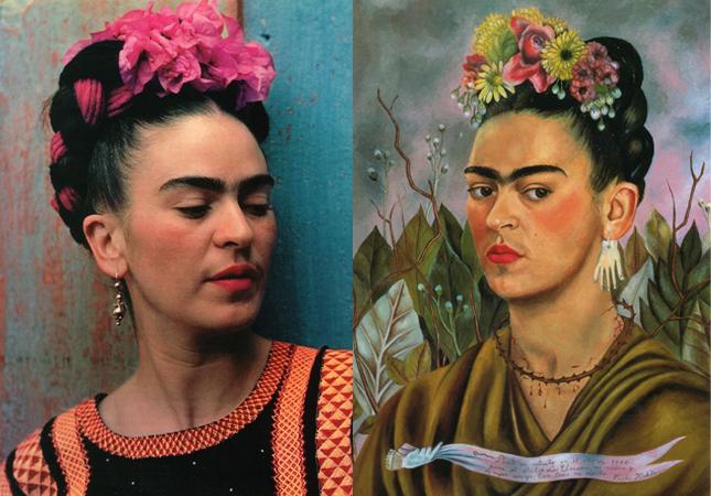 Fashion Soup for the Sartorial Soul: Frida Kahlo