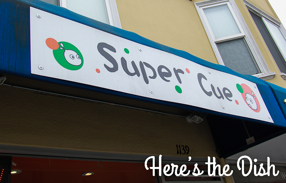 Here's the Dish: Super Cue