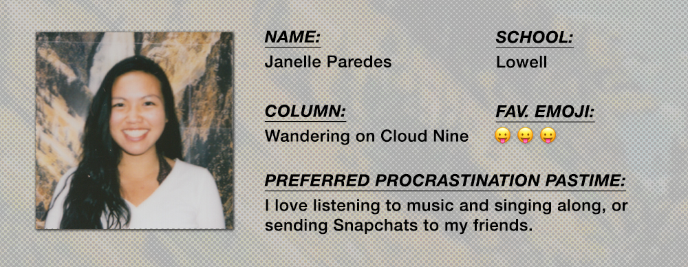 Janelle Paredes - Wandering on Cloud Nine