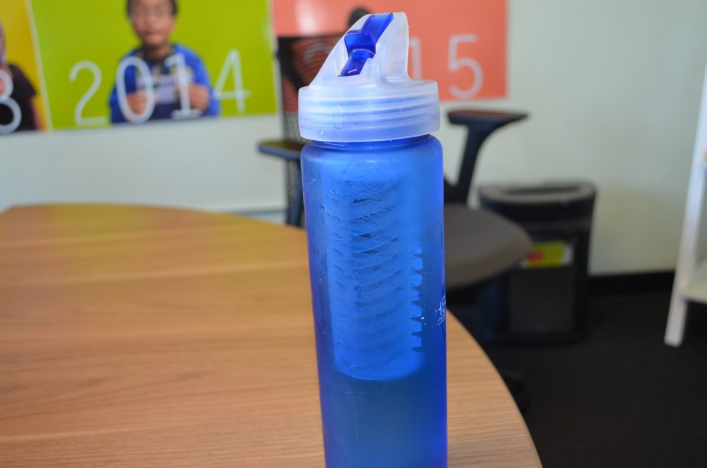 Go Green by using a reusable bottle!