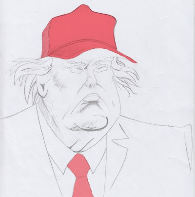 "The Art of ""Fake"" Fake Political Caricatures: The Trump and the May"