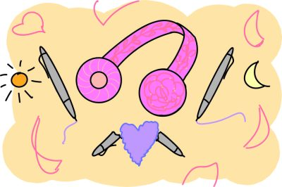 Pens + Headsets: When The Day Met The Night