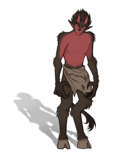 Medieval Fantasy: Demon
