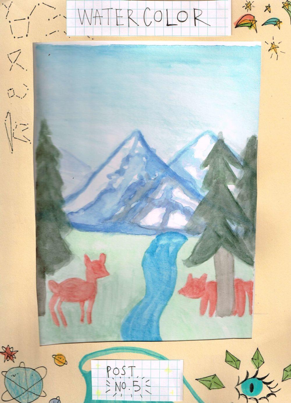 Apex After Apex: Watercolor