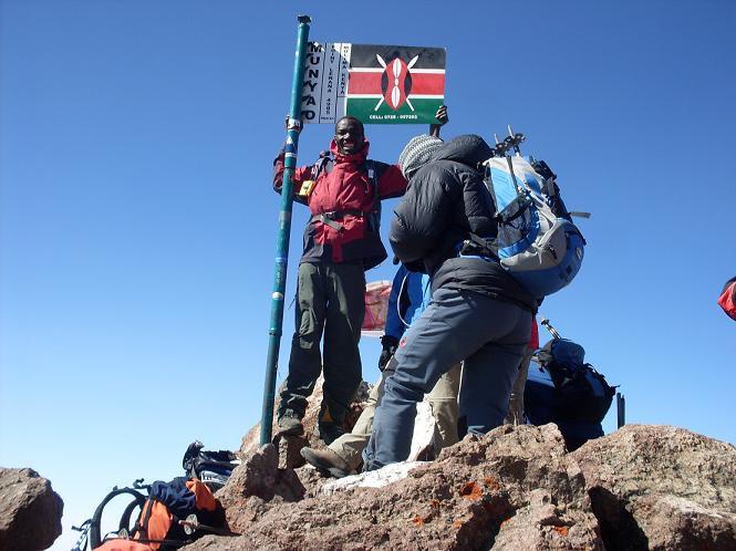 Mount Kenya Climb-Chogoria Out Chogoria 5 Days