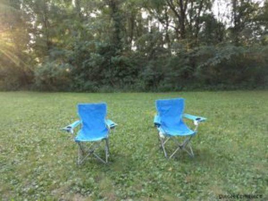 Camping roadtrip, Iowa