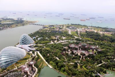 Singapore - Marina Bay Sands Hotel Skypark