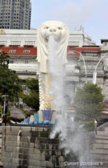 Merlion statue - Singapore
