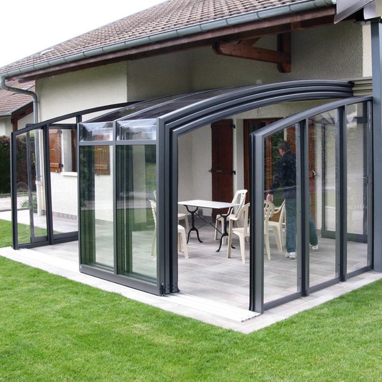 conservatory building - patio enclosures - retractable ... on Patio Enclosures  id=51740