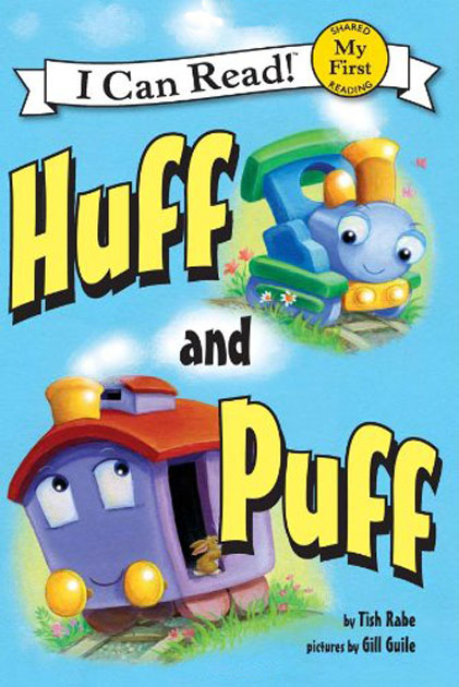 An I Can Read Book - Huff And Puff (全新正版產品) - 歌德英文書店