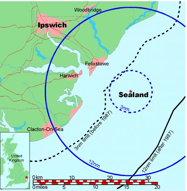 Сийленд - карта