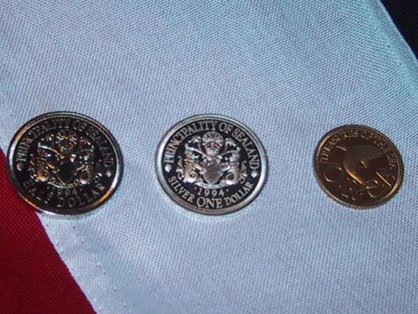 Сийленд - монети