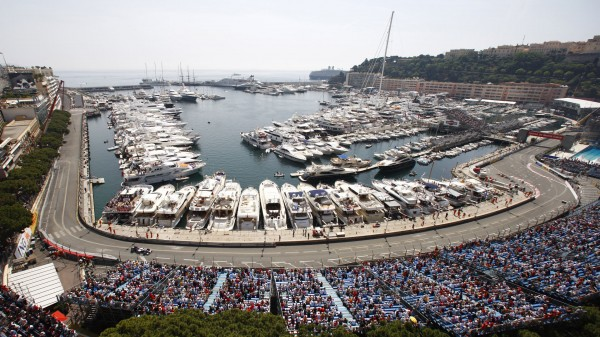 Монако- пистата на формула 1