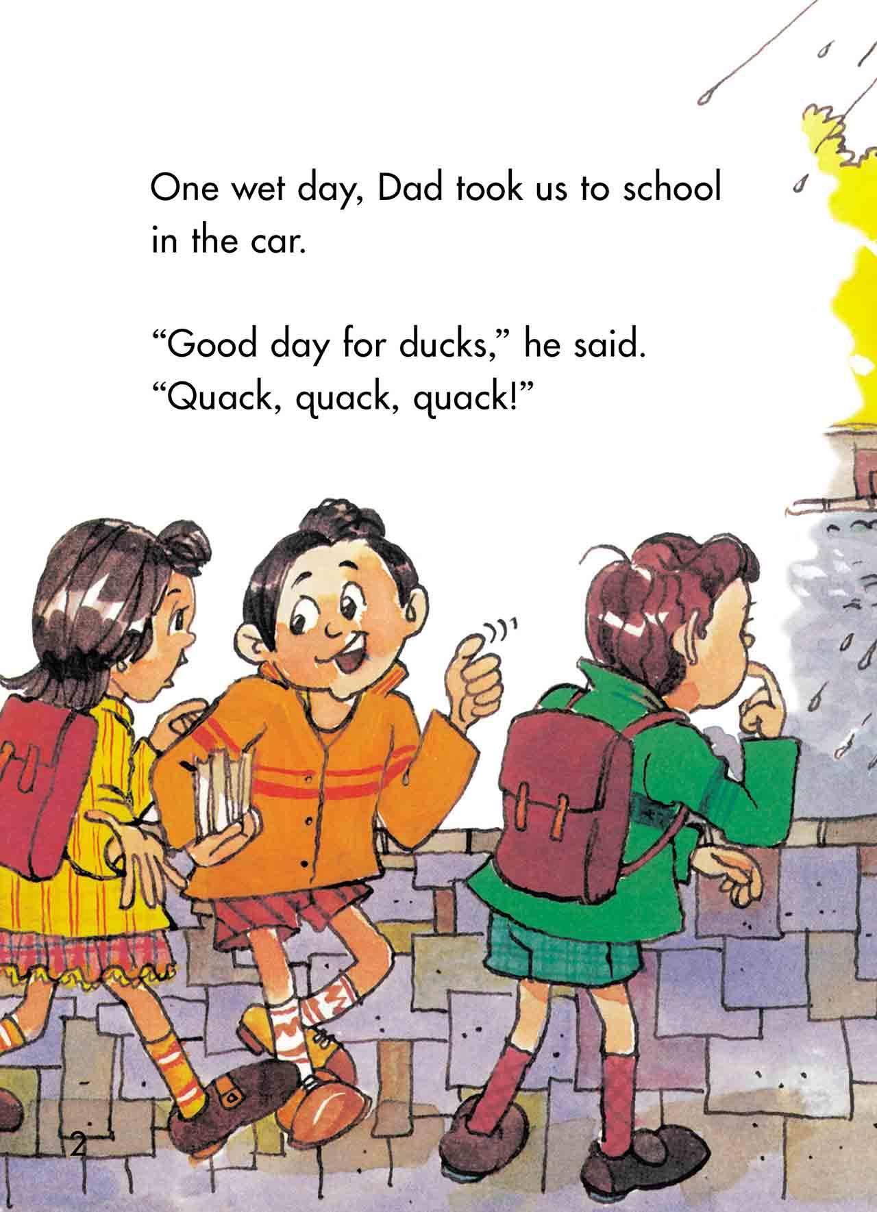 quack quack in