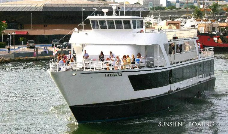 Party Boat Amp Yacht Rental In Miami Sunshine Boating