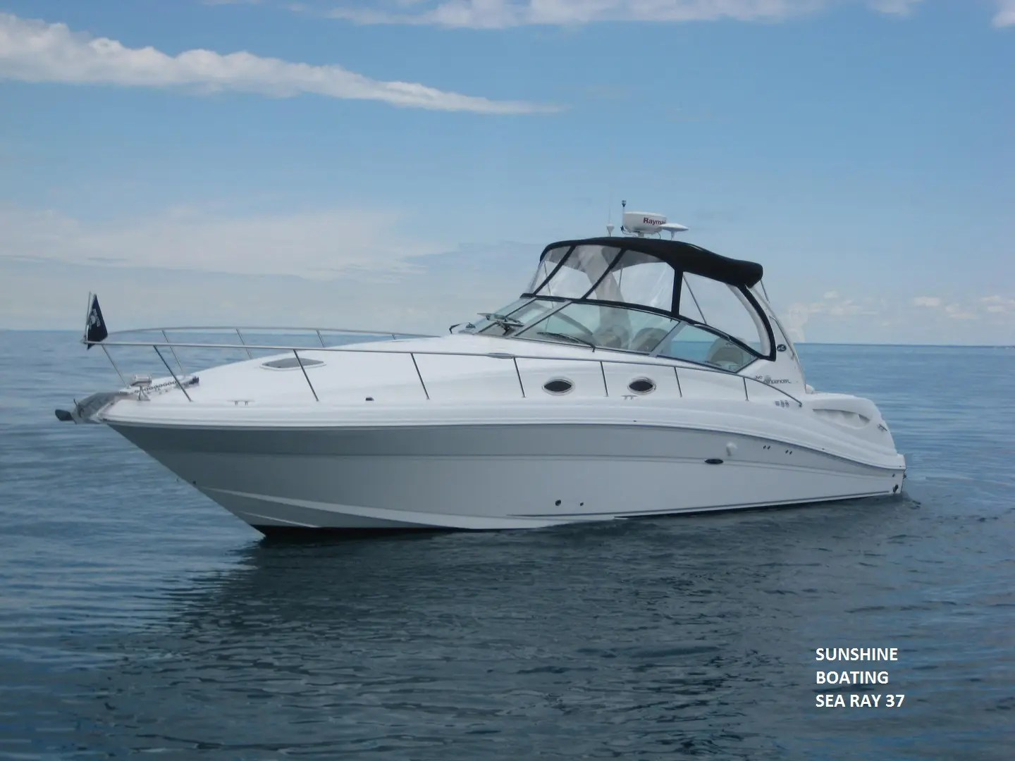 37 Sea Ray Sunshine Boating