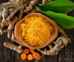Tumeric stimulates new cell growth is rich in antioxidants, thus destroying free radicals and preventing damage to the skin. There's a growing body of evidence that suggests the beneficial impacts of turmeric on skin health.