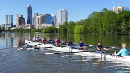 Kids Rowing
