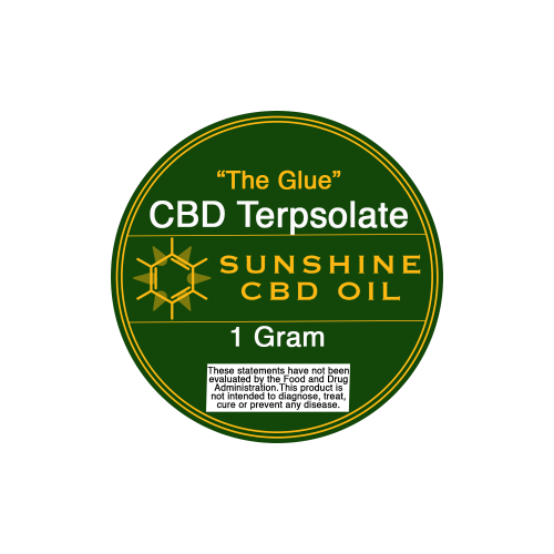 The Glue CBD Terpsolate