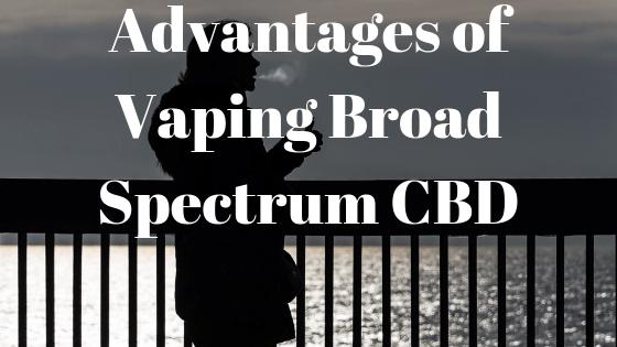 vaping broad spectrum cbd